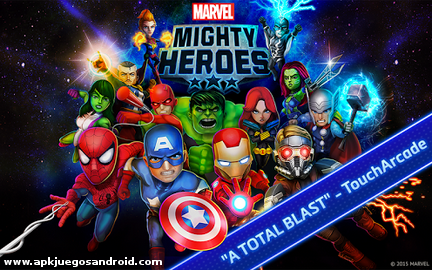 Marvel Mighty Heroes - Android Gameplay HD - YouTube